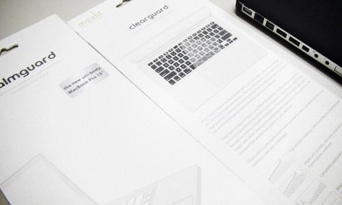 moshi clearguard & PalmGuard for Unibody