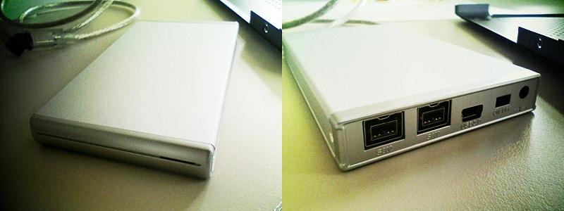 FW800 SATA2.5inch HD Case
