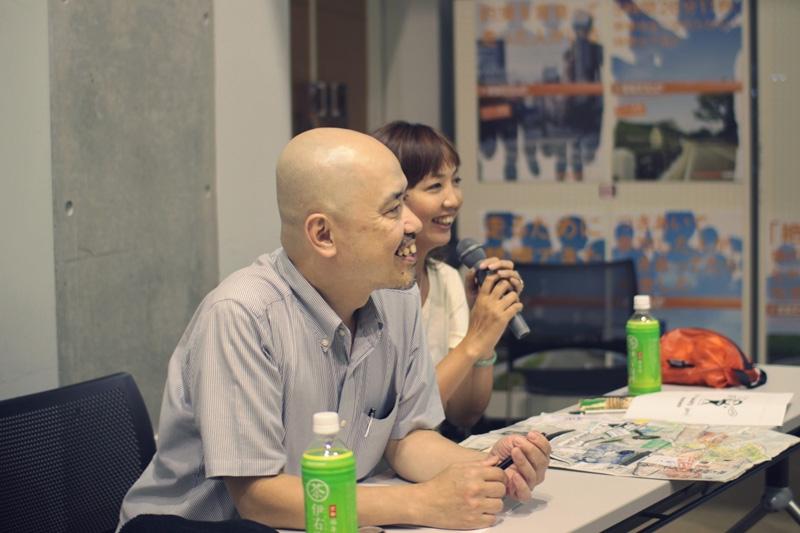 中島信也さんと森本千絵さん