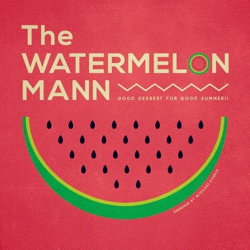 The WATERMELON MANN - Red